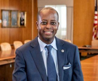 Dr. Wayne Frederick of Howard University