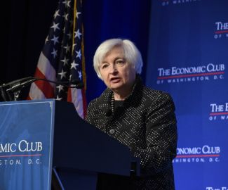 The Honorable Janet Yellen of the Federal Reserve System speaking to the Economic Club.