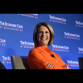 Gloria Borger, CNN - Photo Credit: The Economic Club of Washington, D.C./Joyce N. Boghosian
