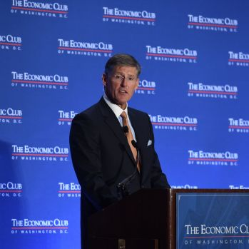 Photo Credit: The Economic Club of Washington, D.C./Joshua Roberts